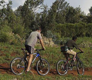Hiking, walking and biking